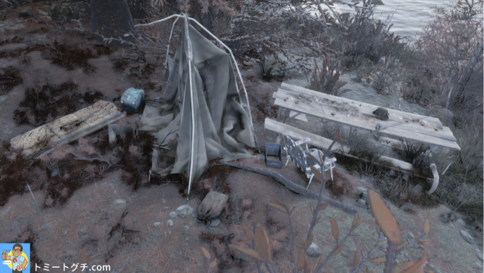 Fallout76 イロイーズ湖