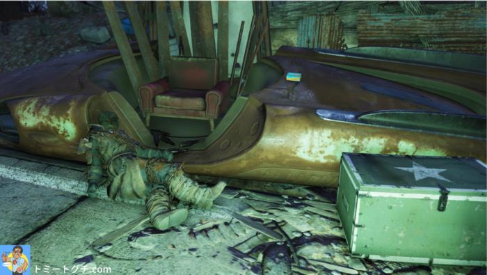 Fallout76 カットスローツのキャンプ(南)