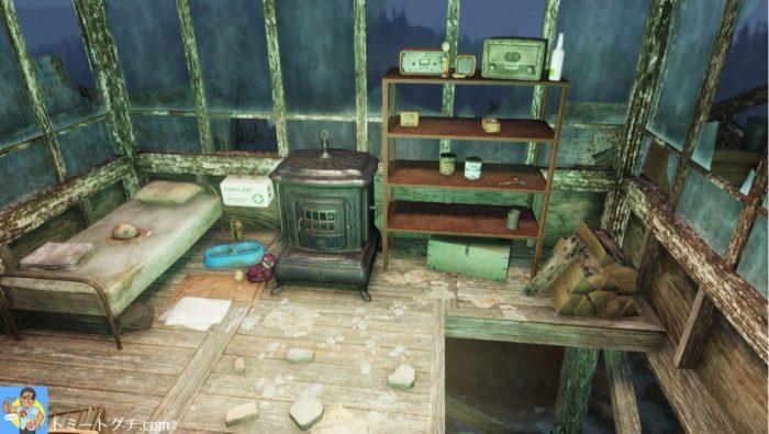 Fallout76 サウス・マウンテン監視地点