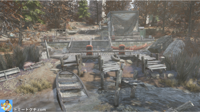 Fallout76 スプルース・ノブ湖