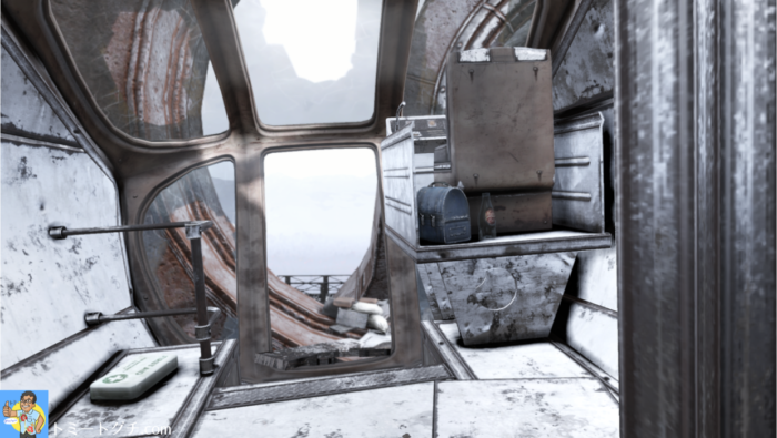 Fallout76 モノレールエレベーター