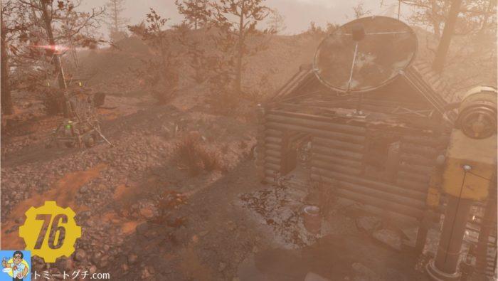 Fallout76 鉄塔奇襲用地