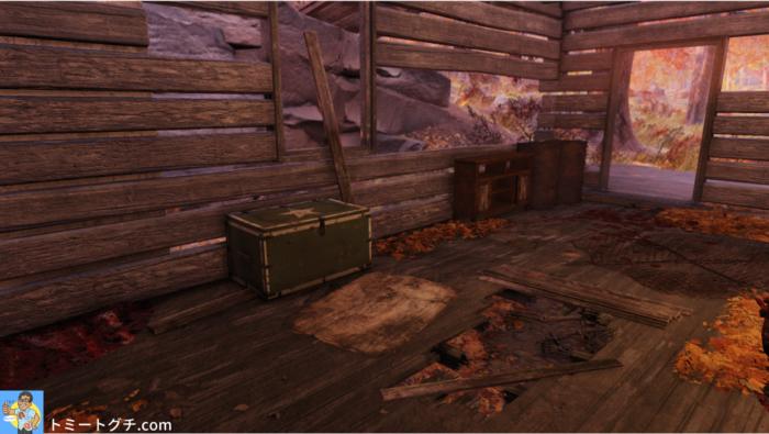 Fallout76 ツインパイン・キャビン