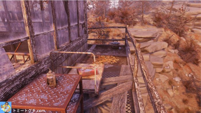 Fallout76 パイオニアスカウト監視地点