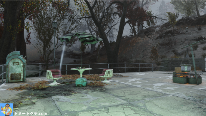 Fallout76 ホワイトパウダー・ウィンタースポーツ