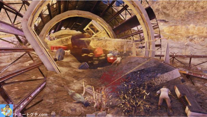 Fallout76 墜落した宇宙ステーション