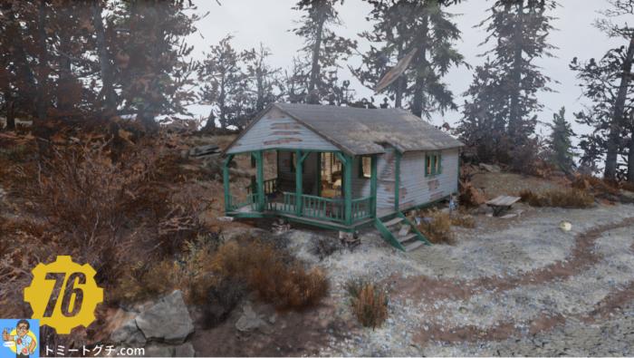 Fallout76 調査員の小屋