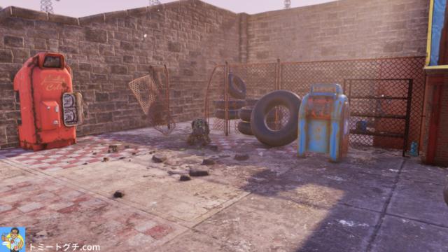 Fallout76 ウェービー・ウィラーズ・ウォーターパーク