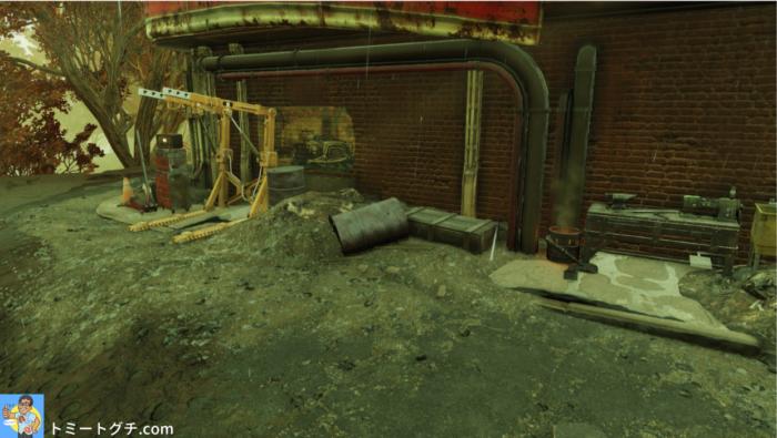 Fallout76 ビッグBの休憩所