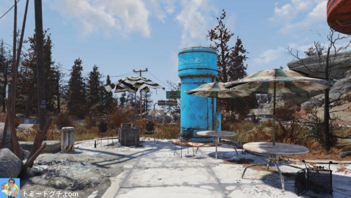 Fallout76 プロウスキ保護シェルター