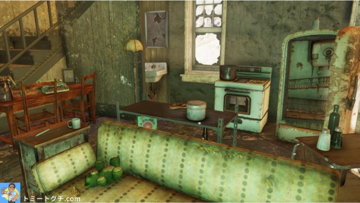 Fallout76 ベッカー農場