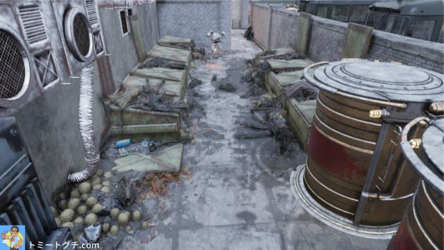 Fallout76 ホワイトスプリングの通用口