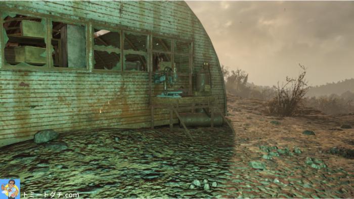 Fallout76 放棄された鉱山シャフト1