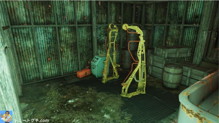 Fallout76 放棄された鉱山シャフト4