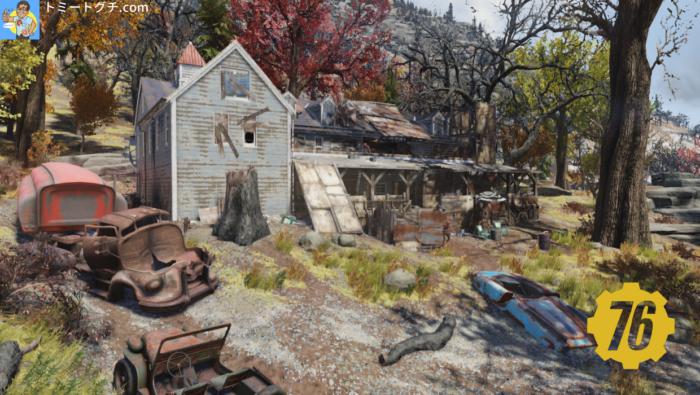 Fallout76 クランシー邸宅