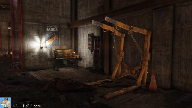 Fallout76 ブレア山操車場