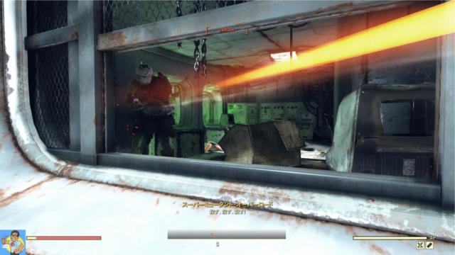 Fallout76 ポケット付き装備時