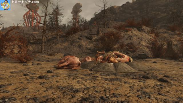 Fallout76 レッドロケット給油所
