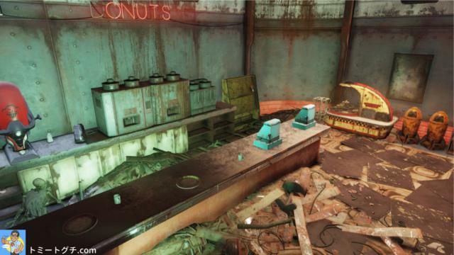 Fallout76 ワトガ・ショッピングモール周辺