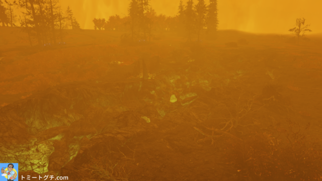 Fallout76 地割れ地点