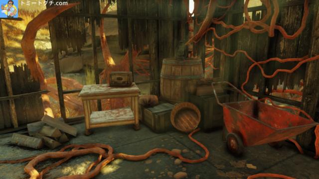Fallout76 デラノ農場