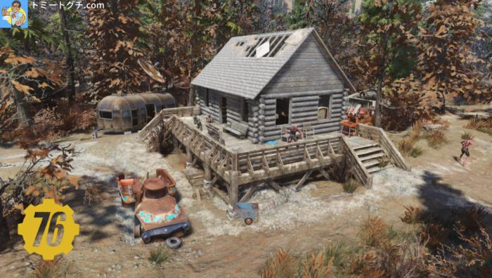 Fallout76 ベイリー家のキャビン