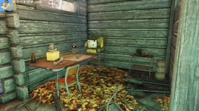 Fallout76 レイクサイド・キャビン