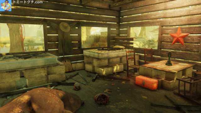 Fallout76 墜落した飛行機