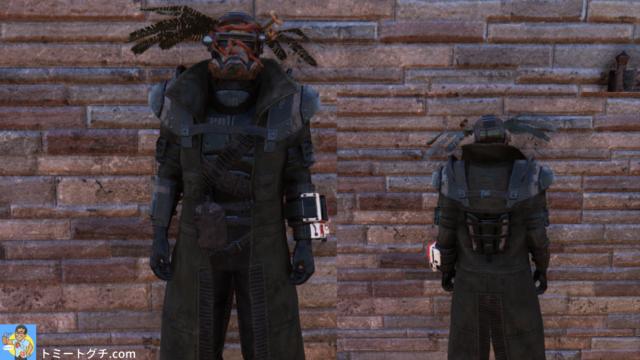 Fallout76 エリートレンジャーアーマー