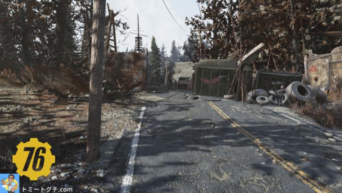 Fallout76 Wastelanders リッパー路地