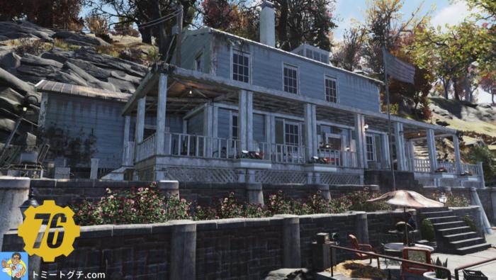 Fallout76 Wastelanders 監督官の家