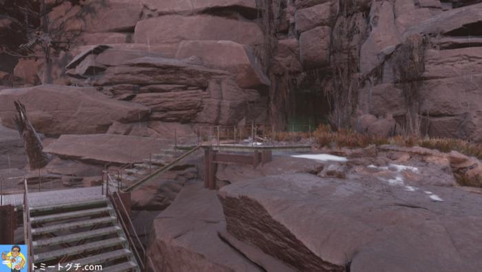 Fallout76 Wastelanders 謎の洞窟
