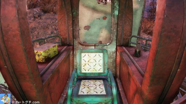 Fallout76 Wastelanders スカルボーン展望地