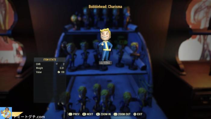 Fallout76 ボブルヘッド