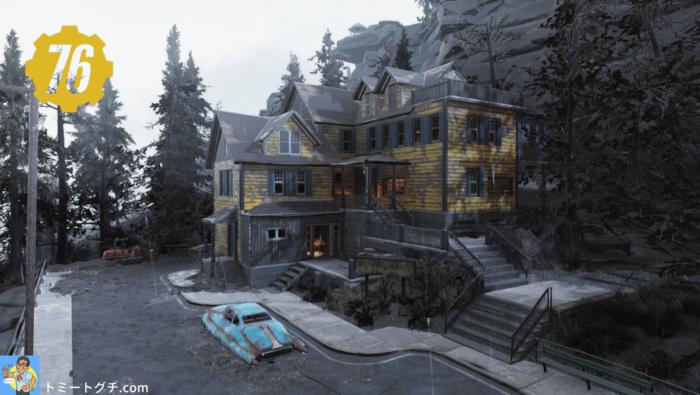 Fallout76 Wastelanders マウンテンサイドB&B