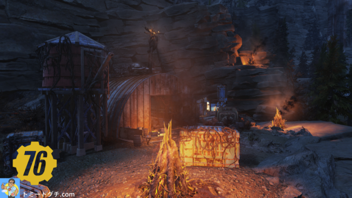 Fallout76 Wastelanders ラッキー・ホール鉱山