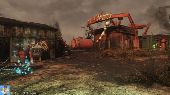 Fallout76 Wastelanders レッドロケット給油所